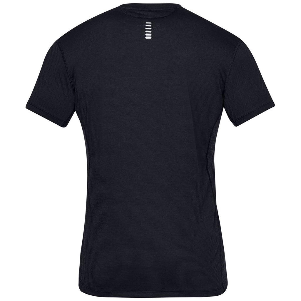 Under Armour Men's Black Streaker 2.0 Short Sleeve Tee
