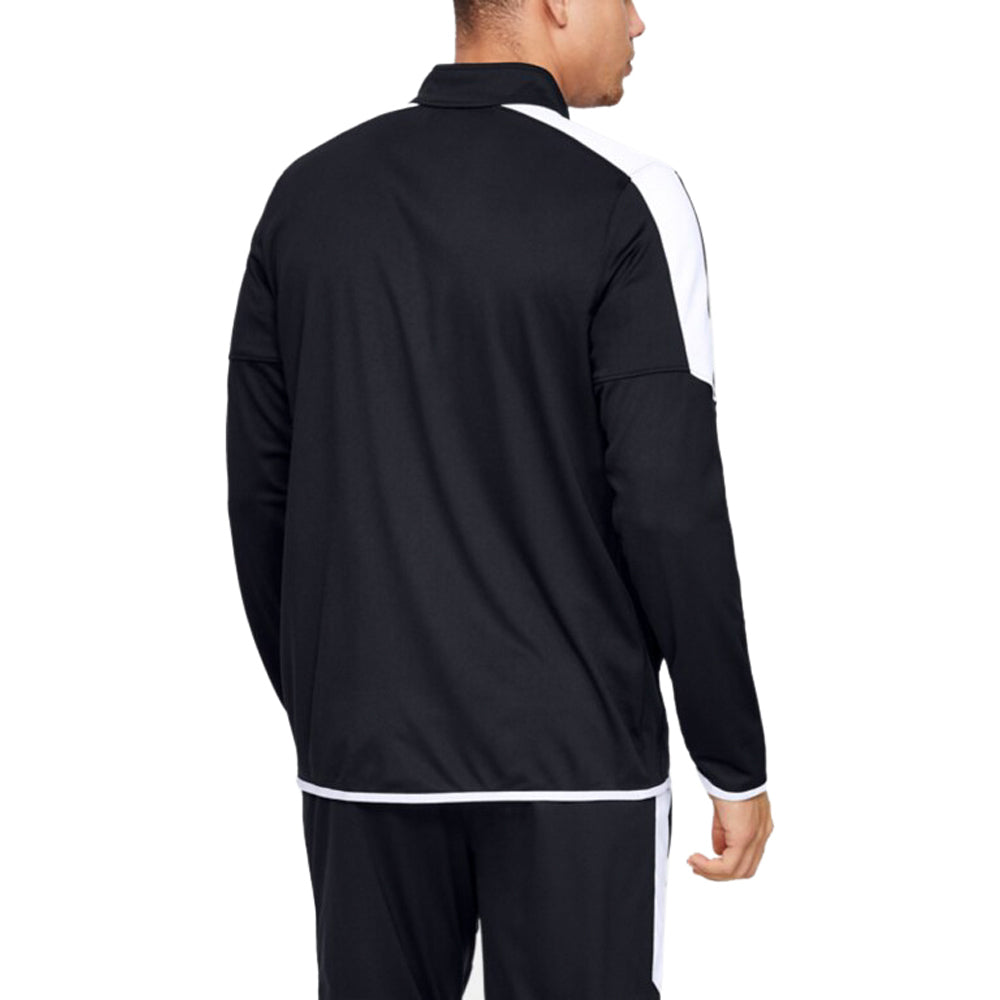Under Armour Men's Black Rival Knit Jacket