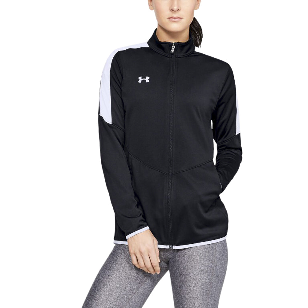 Under Armour Women's Black Rival Knit Jacket