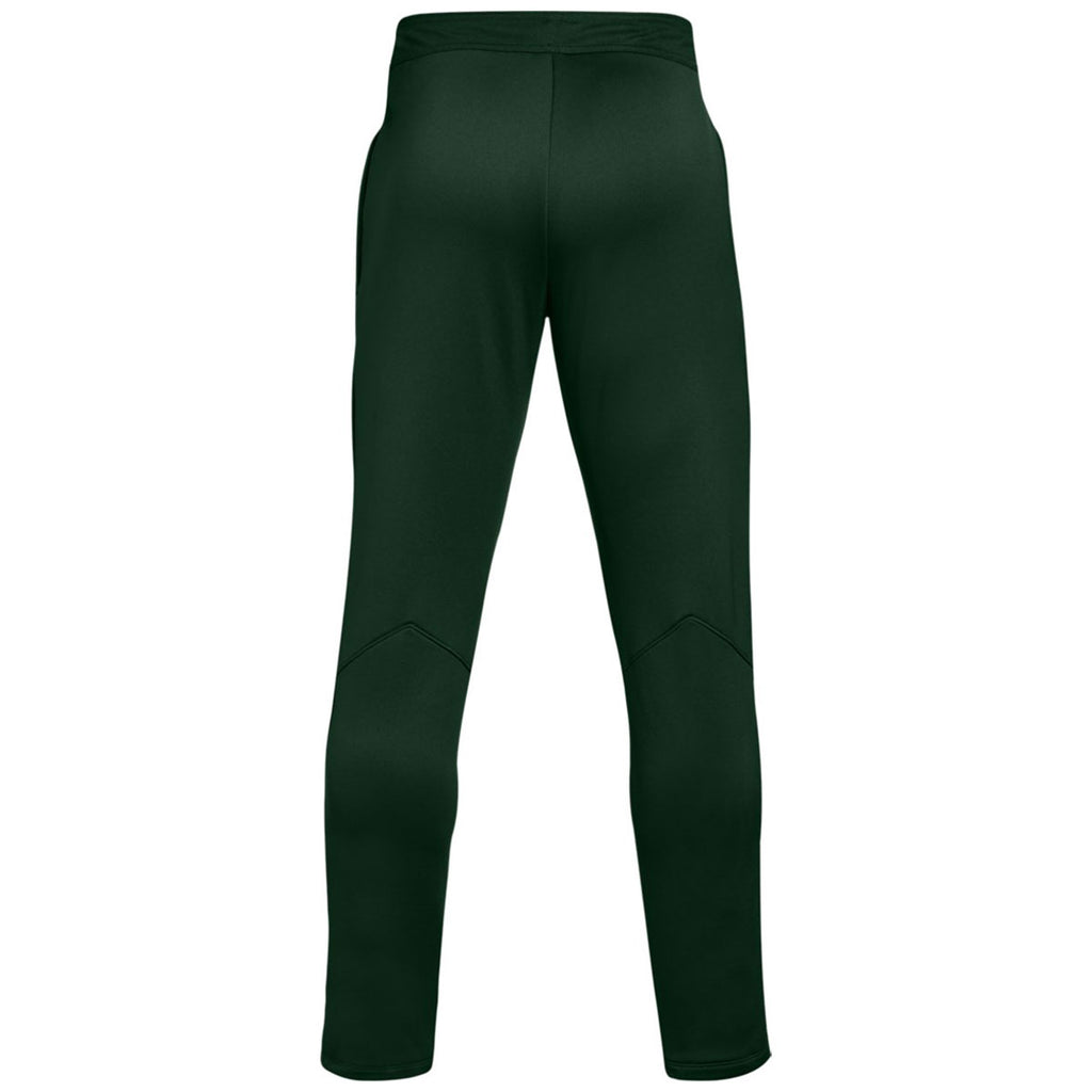 Under Armour Men's Forest Green Qualifier Hybrid Warm-Up Pant