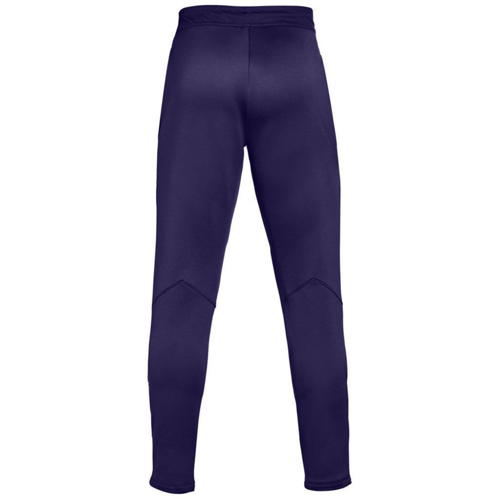 Under Armour Men's Purple Qualifier Hybrid Warm-Up Pant