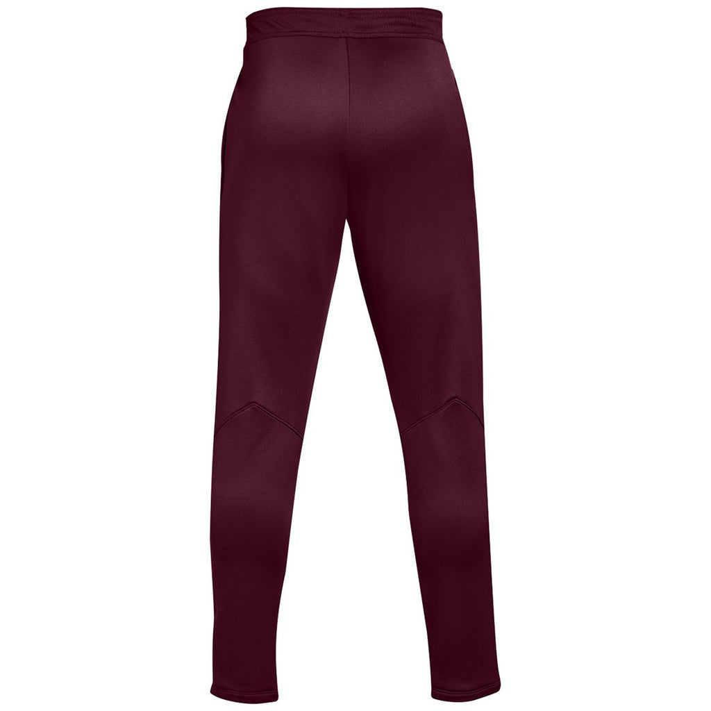 Under Armour Men's Maroon Qualifier Hybrid Warm-Up Pant