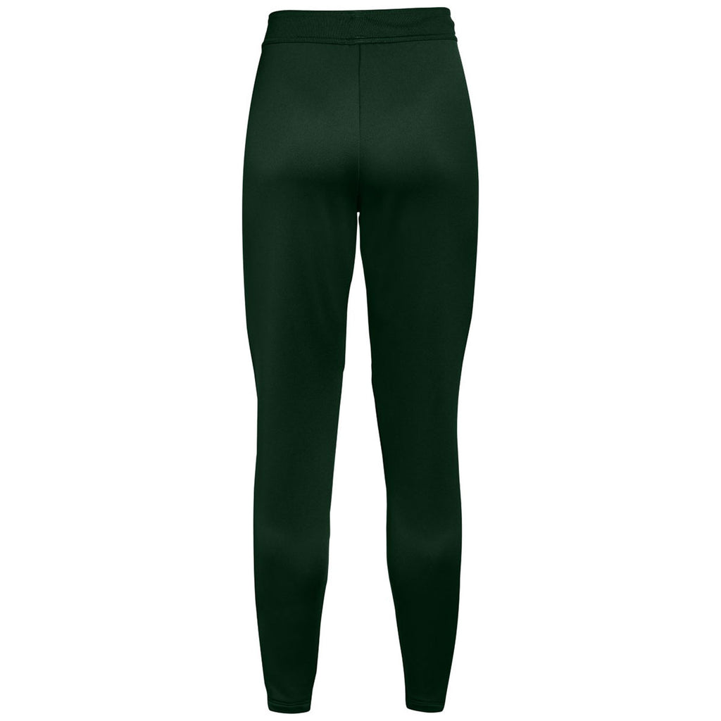 Under Armour Women's Forest Green Qualifier Hybrid Warm-Up Pant