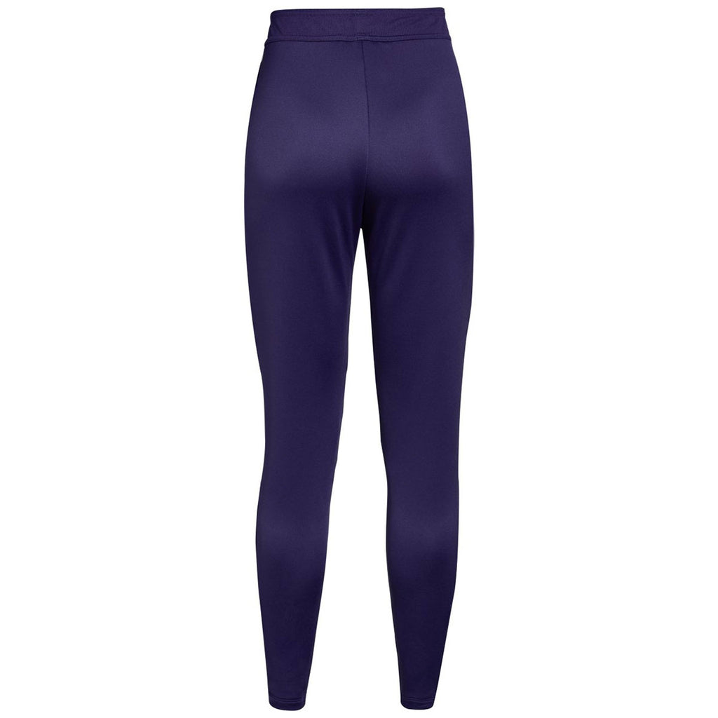 Under Armour Women's Purple Qualifier Hybrid Warm-Up Pant
