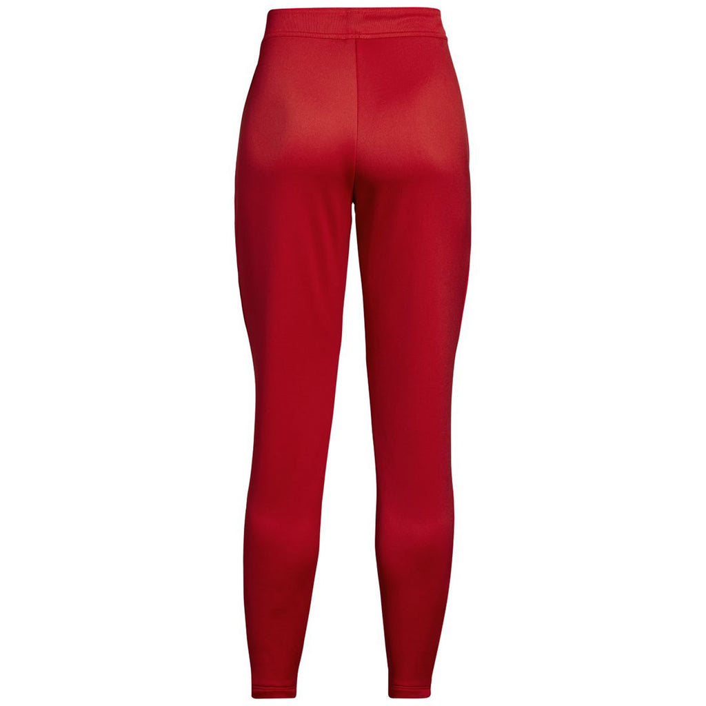 Under Armour Women's Red Qualifier Hybrid Warm-Up Pant