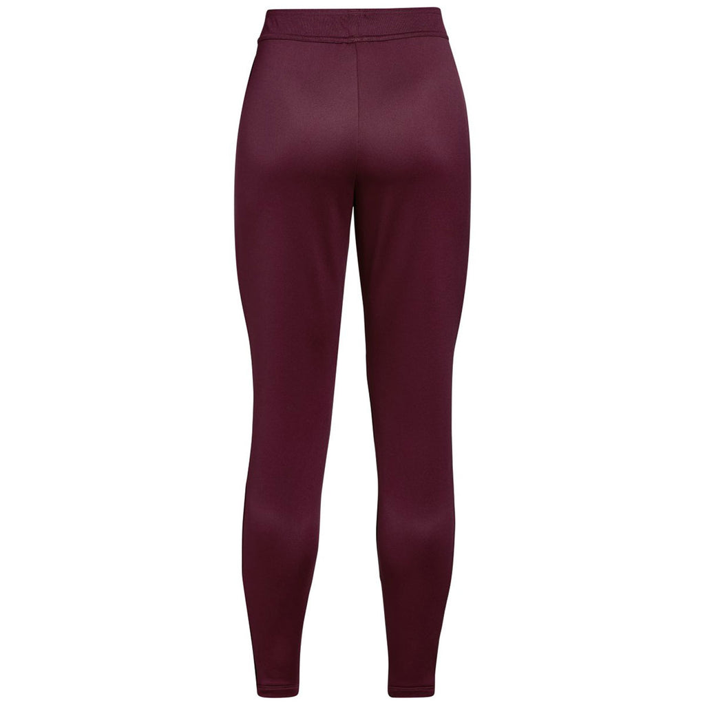 Under Armour Women's Maroon Qualifier Hybrid Warm-Up Pant
