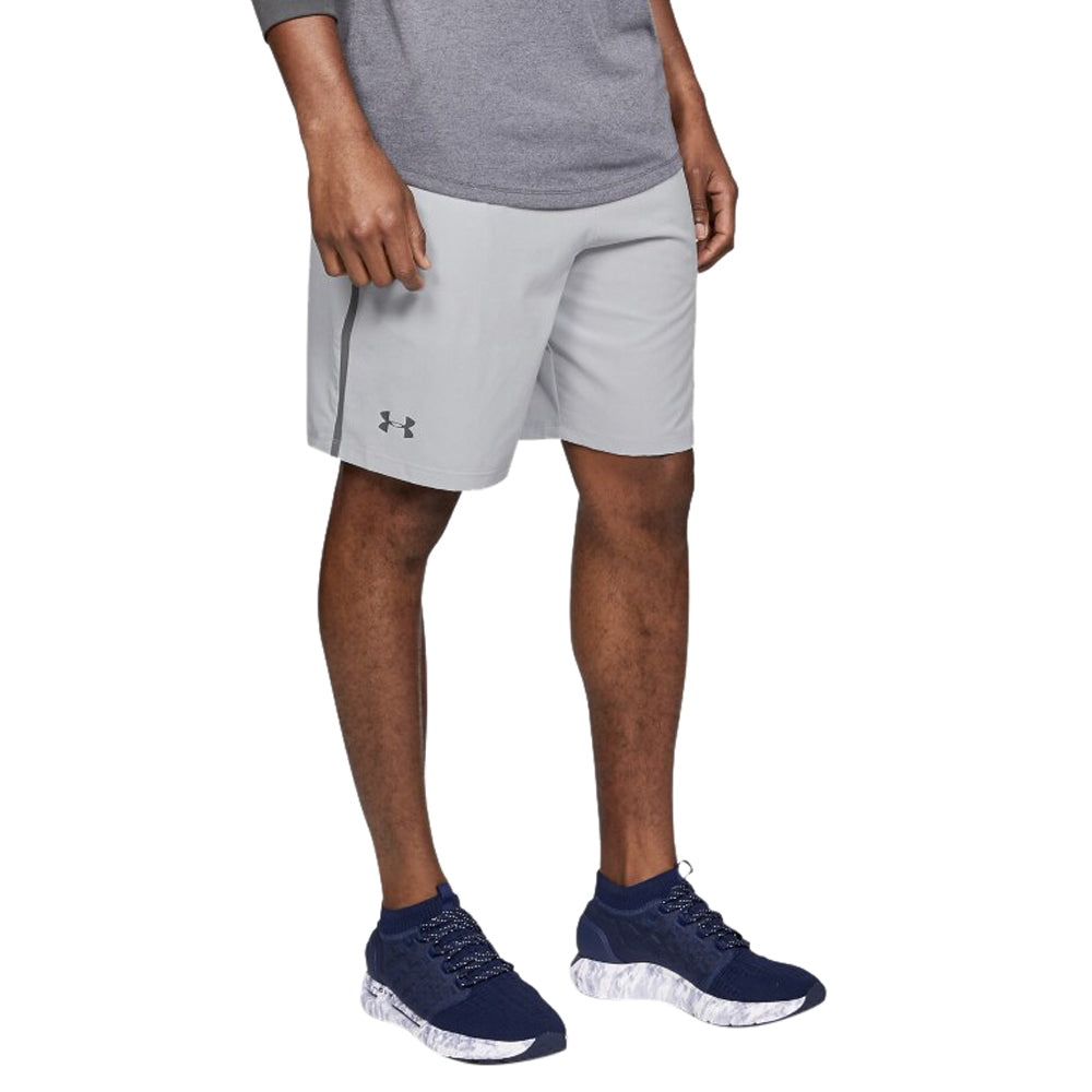 Under Armour Men's Mod Grey Qualifier Perf Shorts