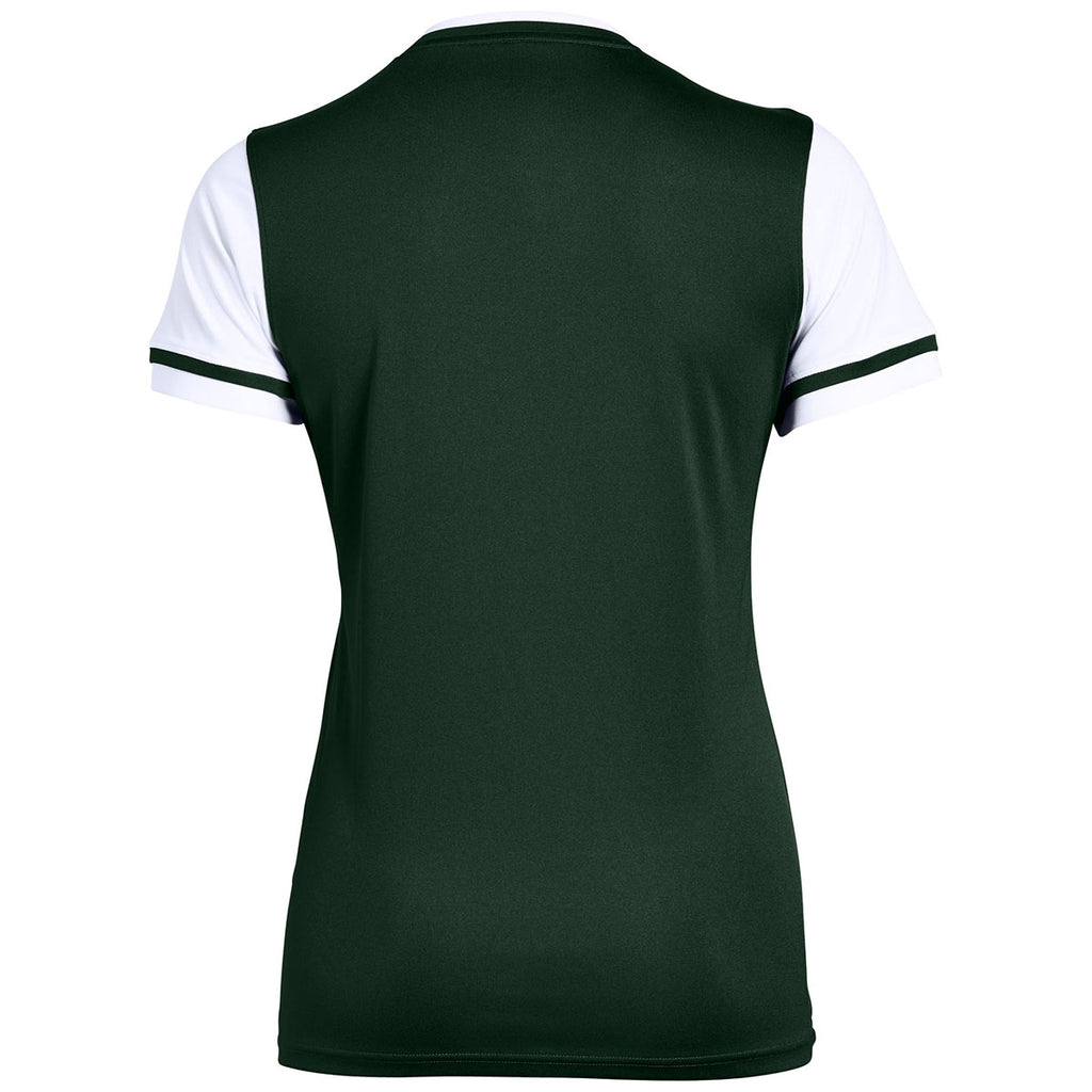 Under Armour Women's Forest Green Maquina 2.0 Jersey