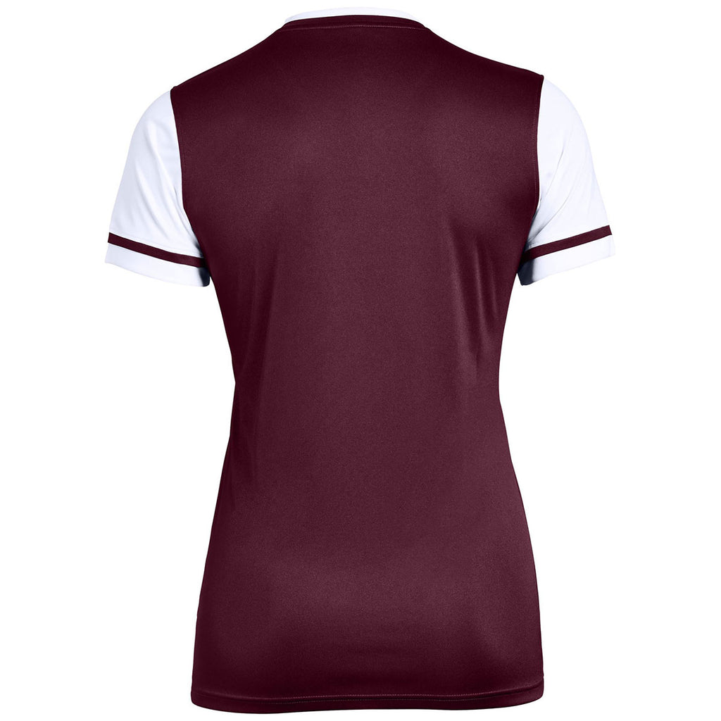 Under Armour Women's Maroon Maquina 2.0 Jersey