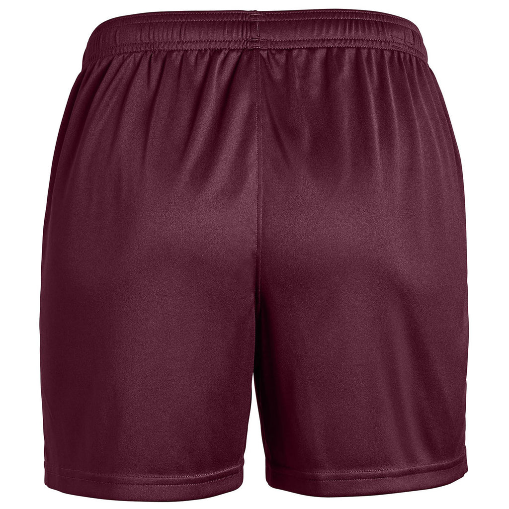 Under Armour Women's Maroon Marquina 2.0 Shorts