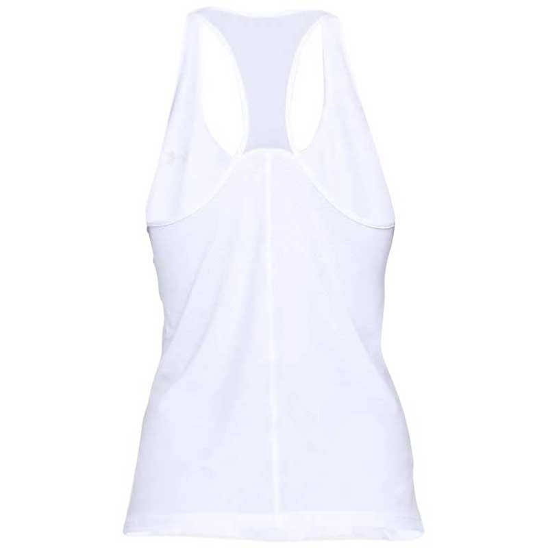 Under Armour Women's White HeatGear Armour Racer Tank