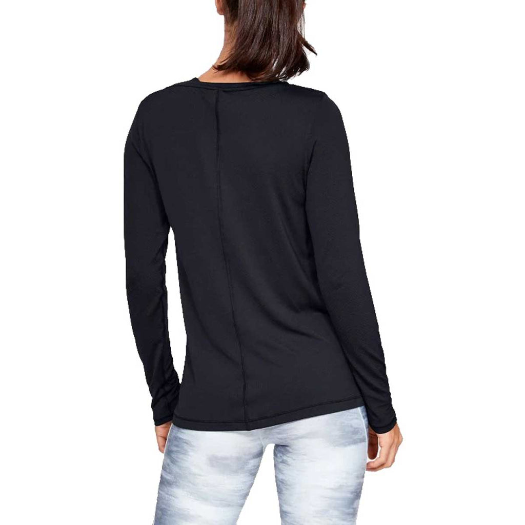 Under Armour Women's Black HeatGear Armour Long Sleeve