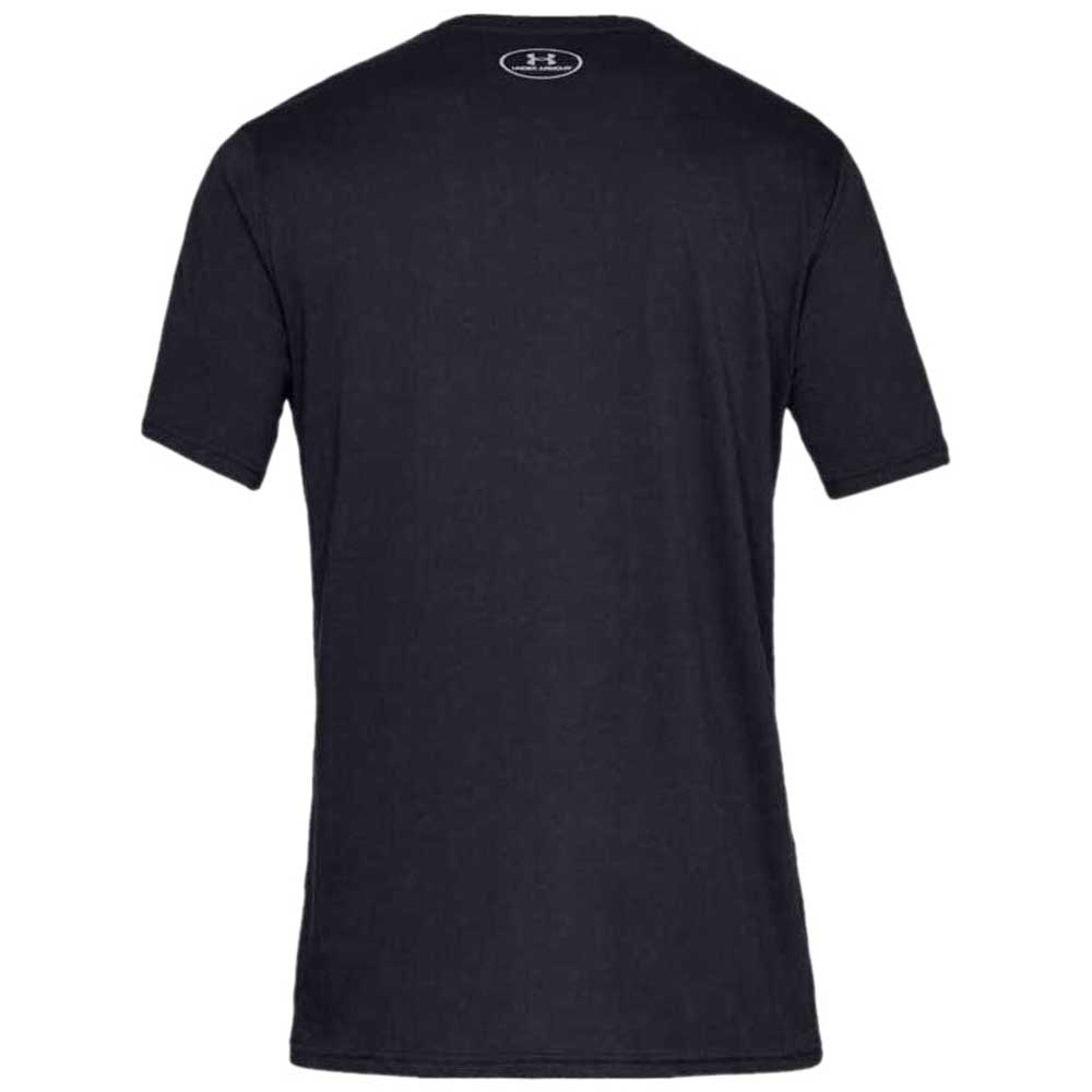 Under Armour Men's Black Sportstyle Logo Short Sleeve Tee