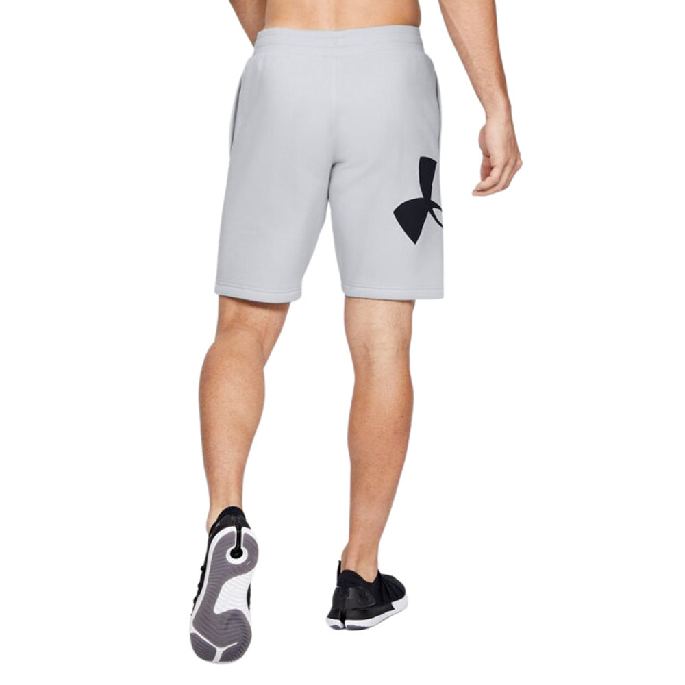 Under Armour Men's Steel Rival Fleece Logo Sweatshorts