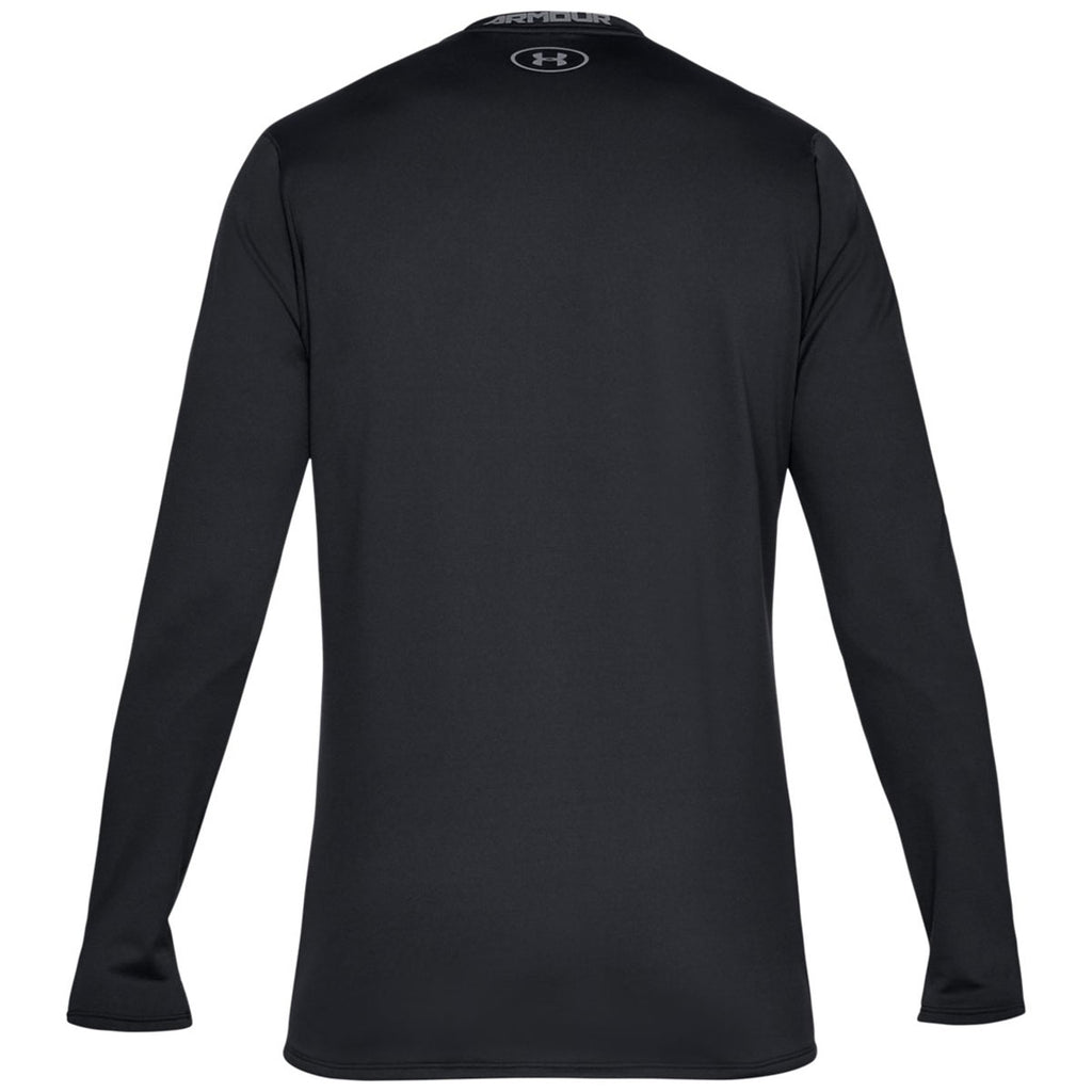 Under Armour Men's Black Fitted Crew Tee