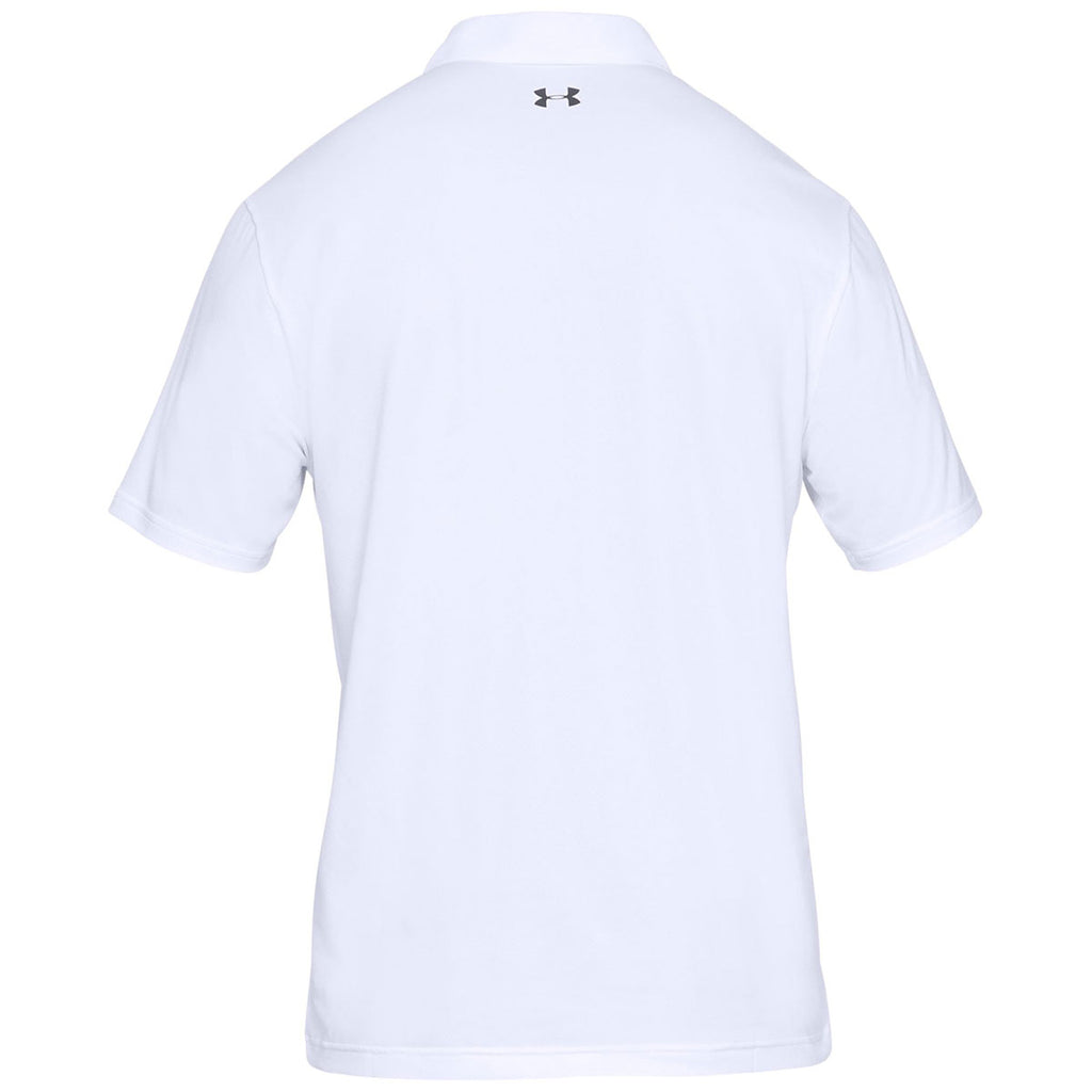 e26dd4eca White Under Armour Golf Shirt – EDGE Engineering and Consulting Limited