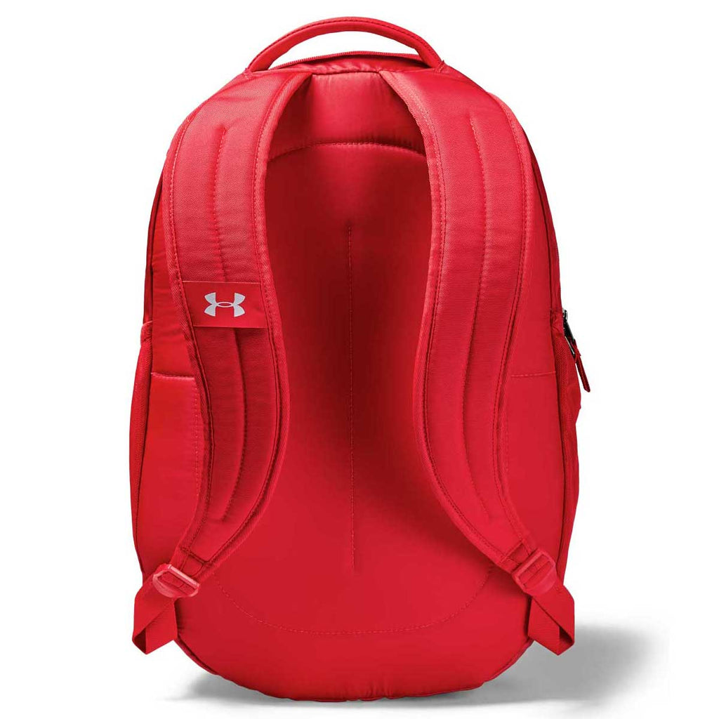 Under Armour Red Hustle 4.0 Backpack