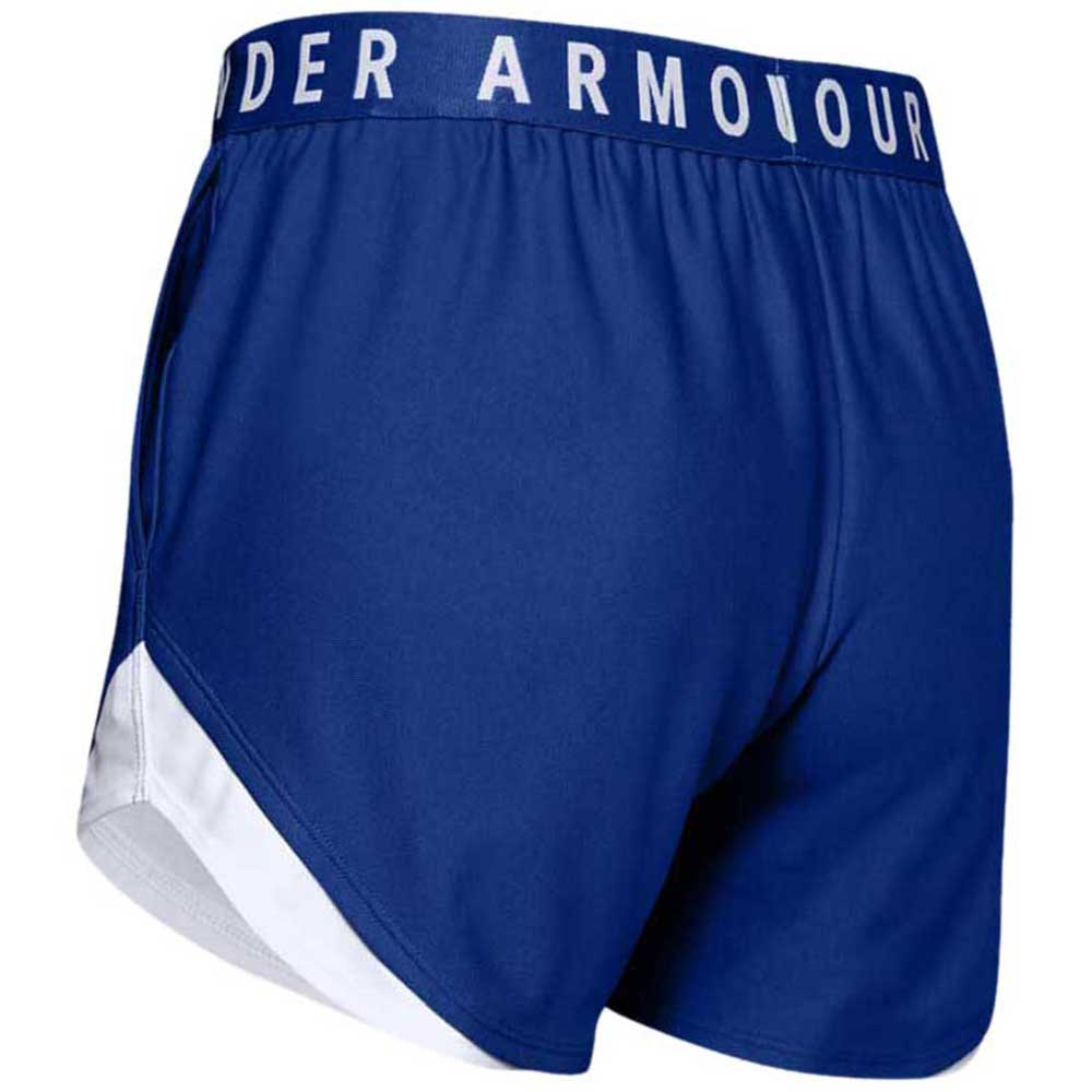 Under Armour Women's Royal Play Up Shorts 3.0