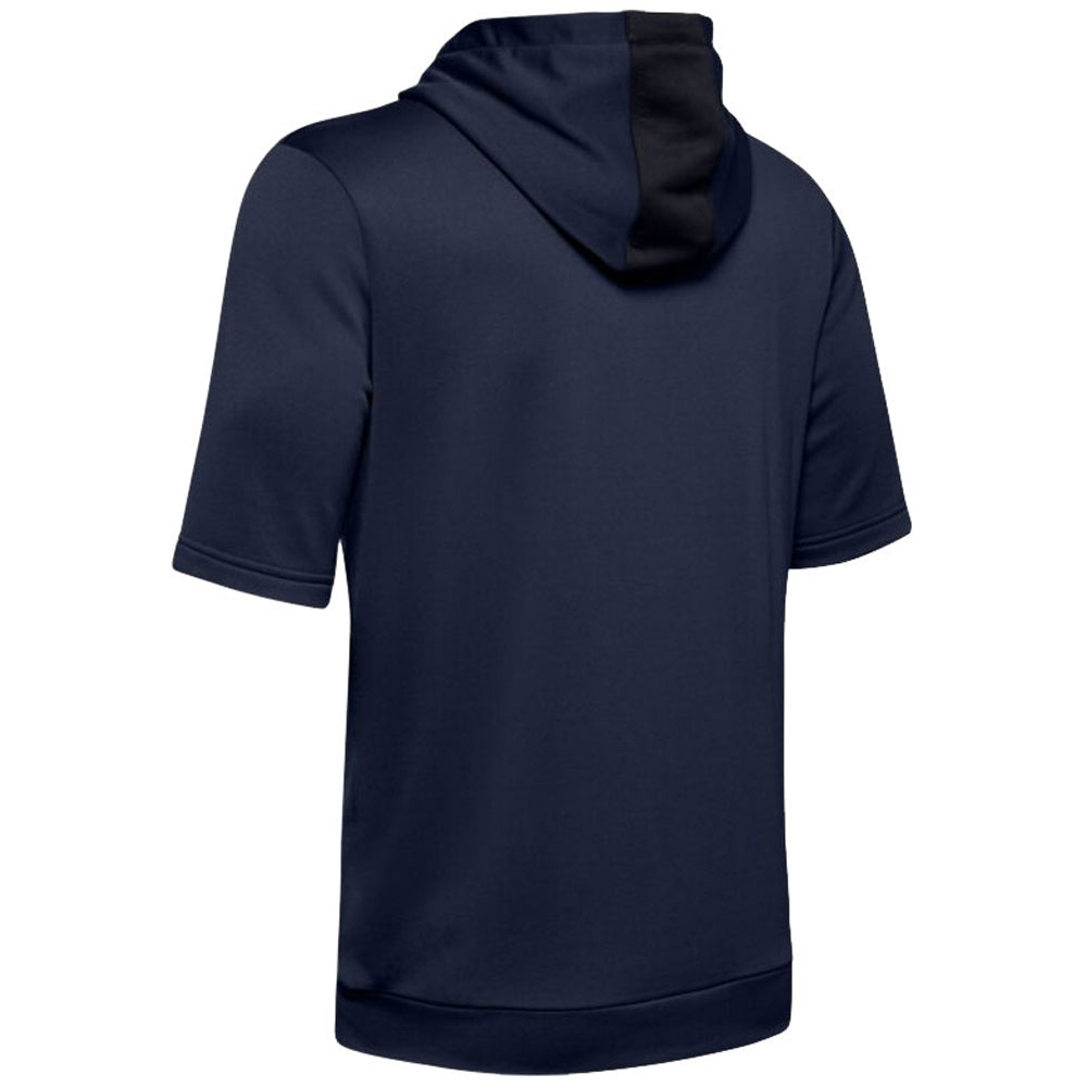 Under Armour Men's Midnight Navy M IL Utility Short Sleeve Cage Hoodie