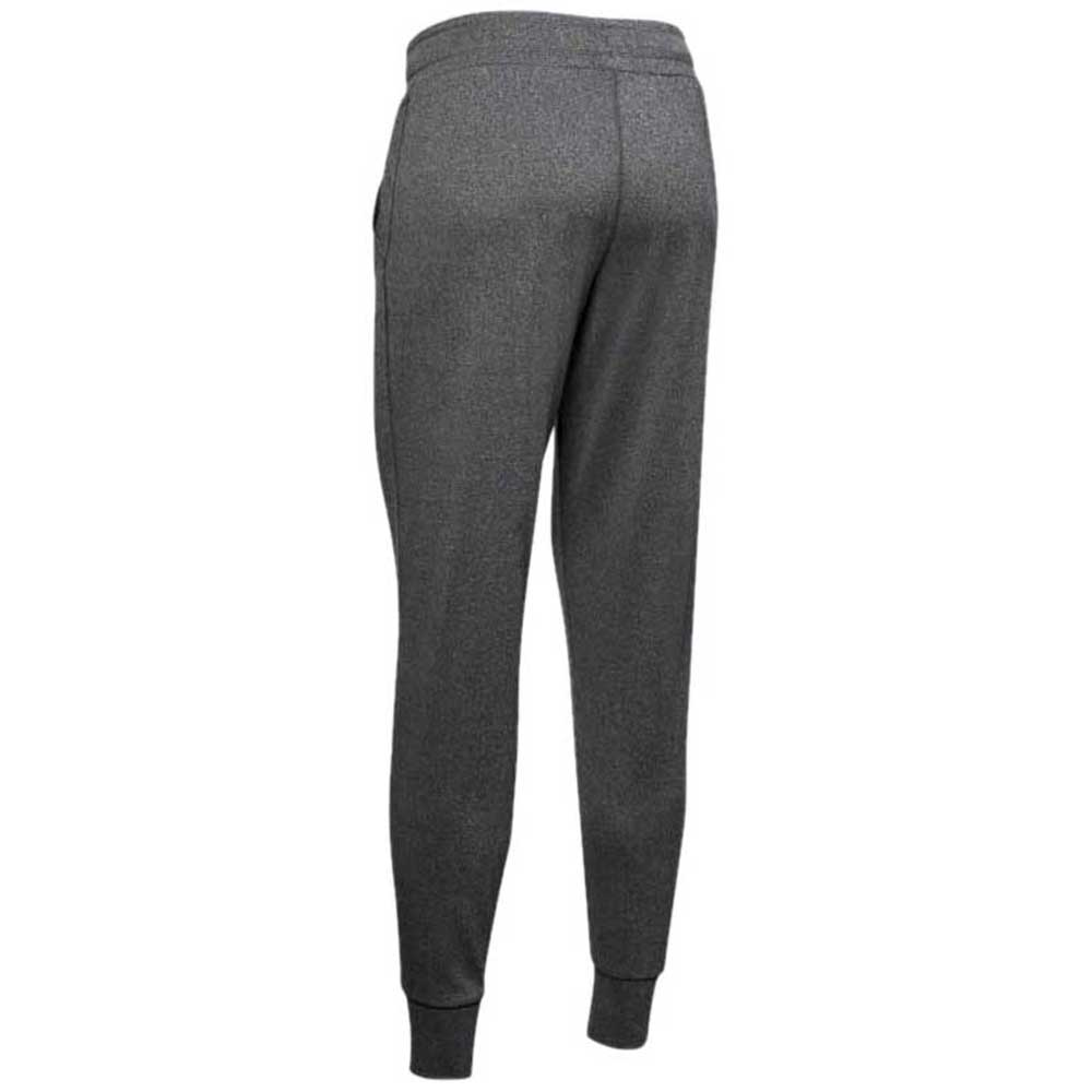 Under Armour Women's Heather Grey/Black Tech Pant 2.0
