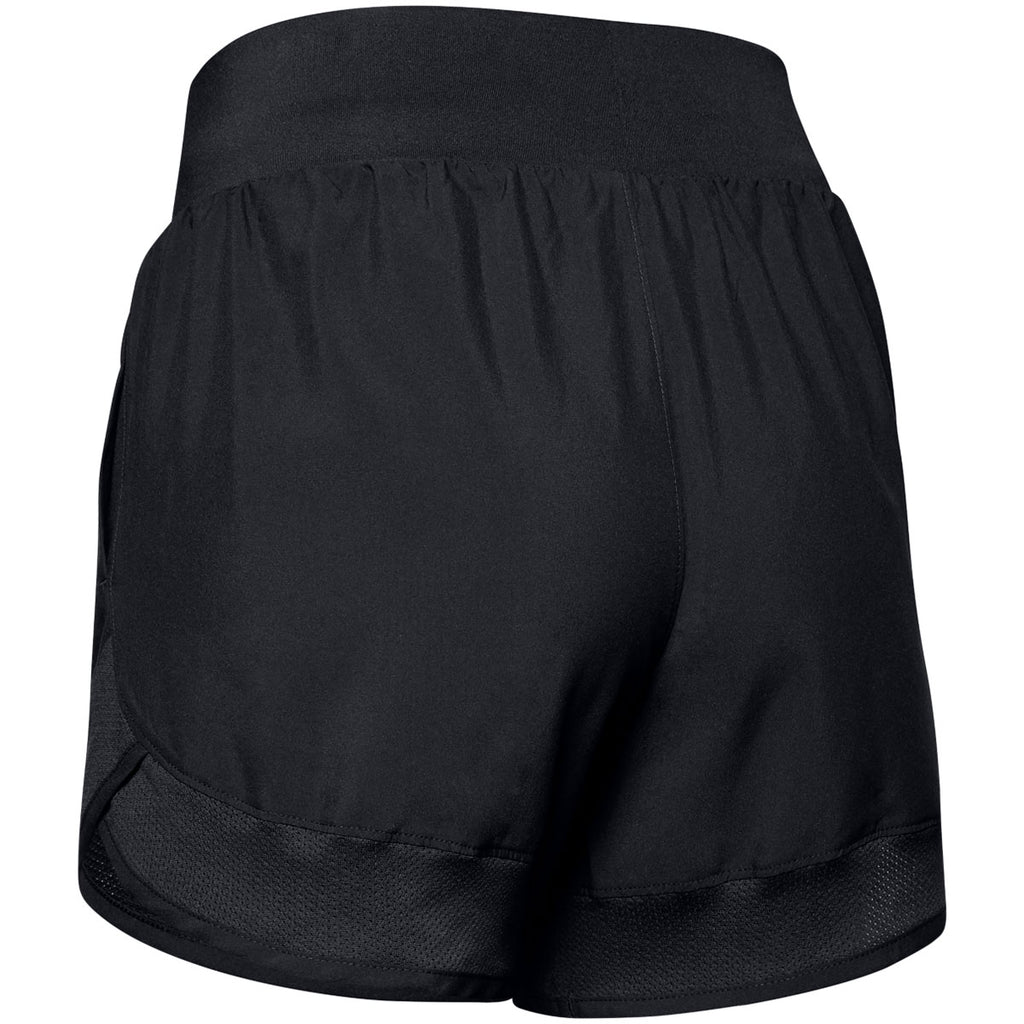 Under Armour Women's Black Woven Training Shorts
