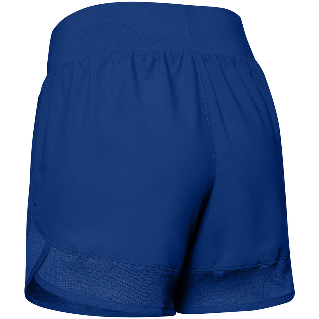 Under Armour Women's Royal Woven Training Shorts