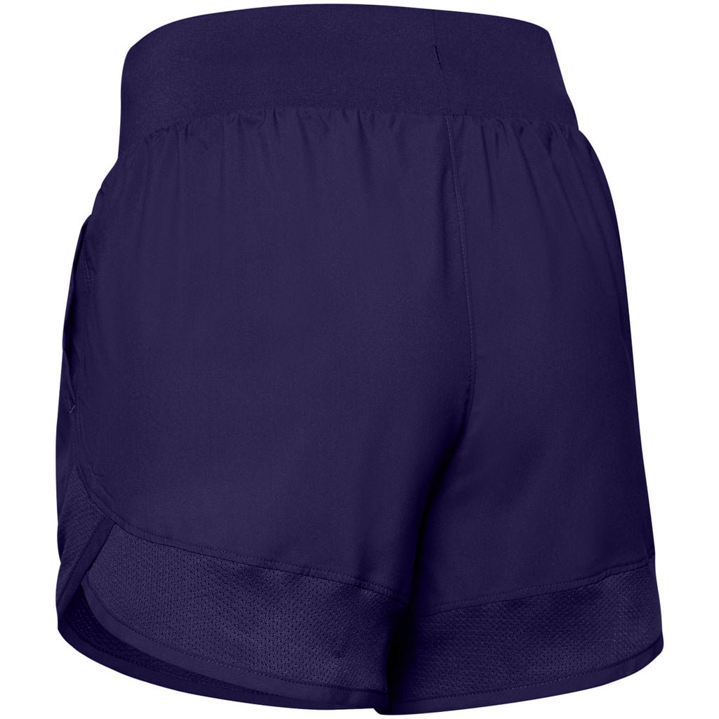 Under Armour Women's Purple Woven Training Shorts