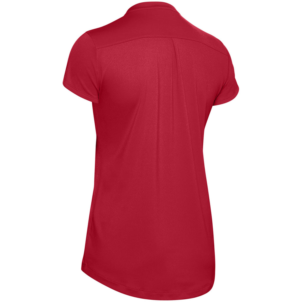 Under Armour Women's Red Team Performance Polo