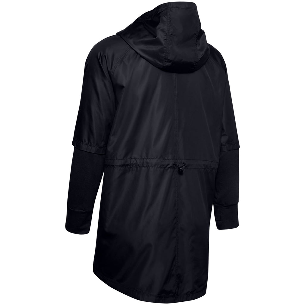 Under Armour Women's Black Cross Town Anorak