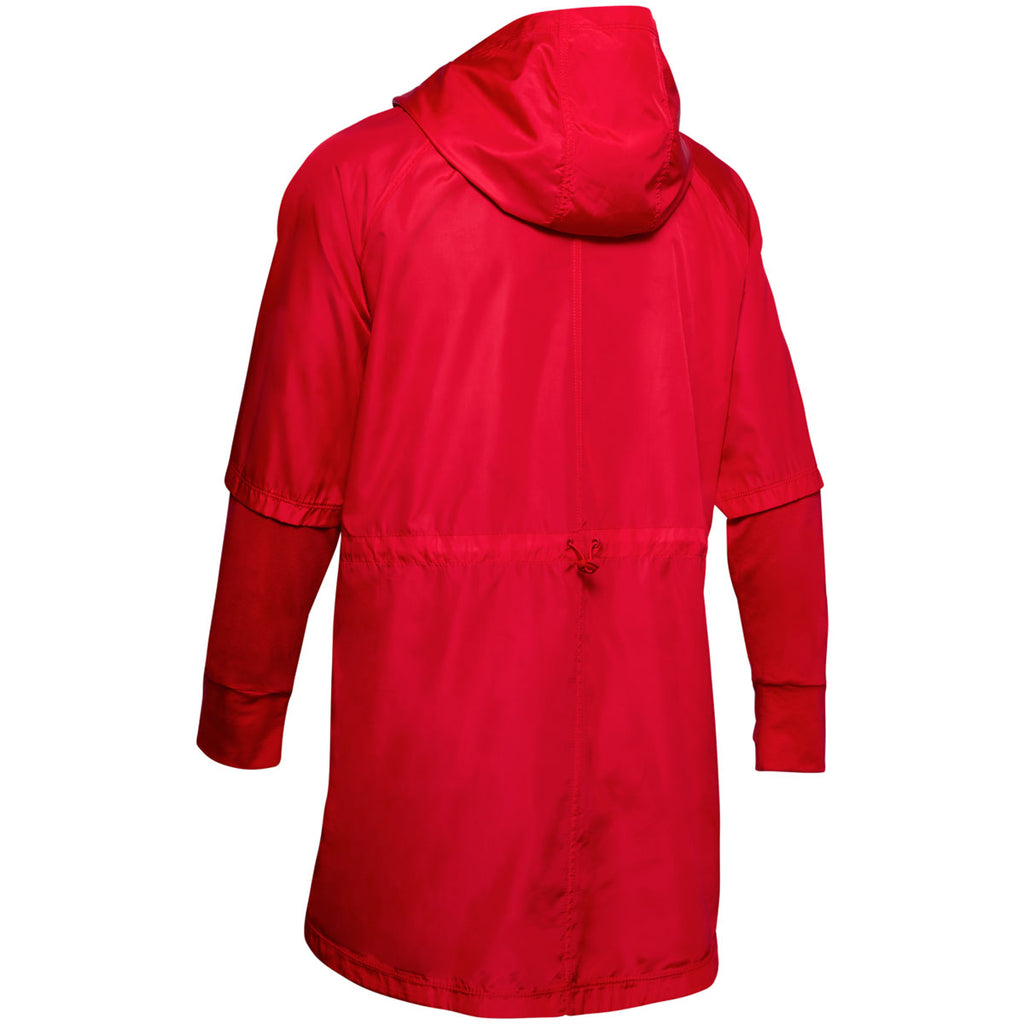 Under Armour Women's Red Cross Town Anorak