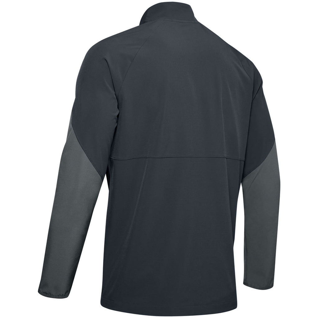 Under Armour Men's Stealth Grey Motivate Long Sleeve Quarter Zip