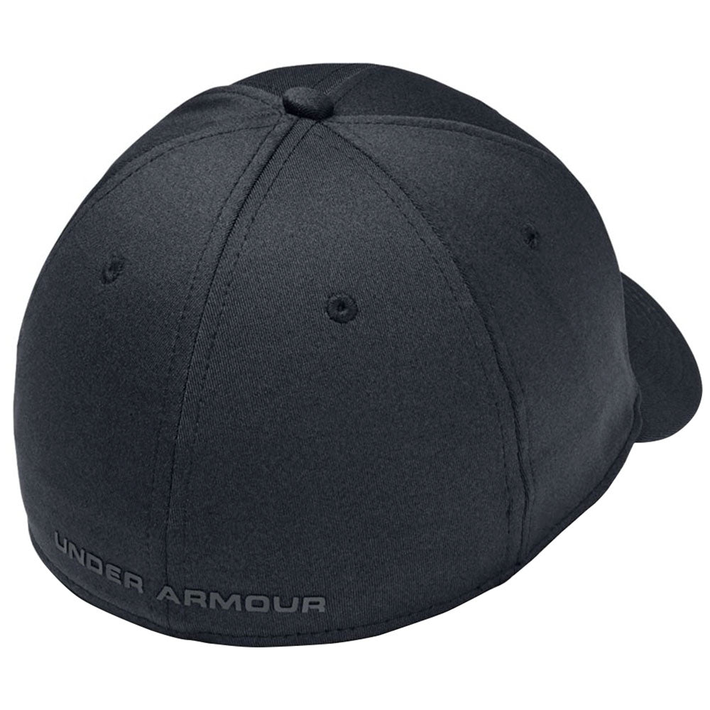 Under Armour Black Light Heather Isochill Armour Twist Structured Cap