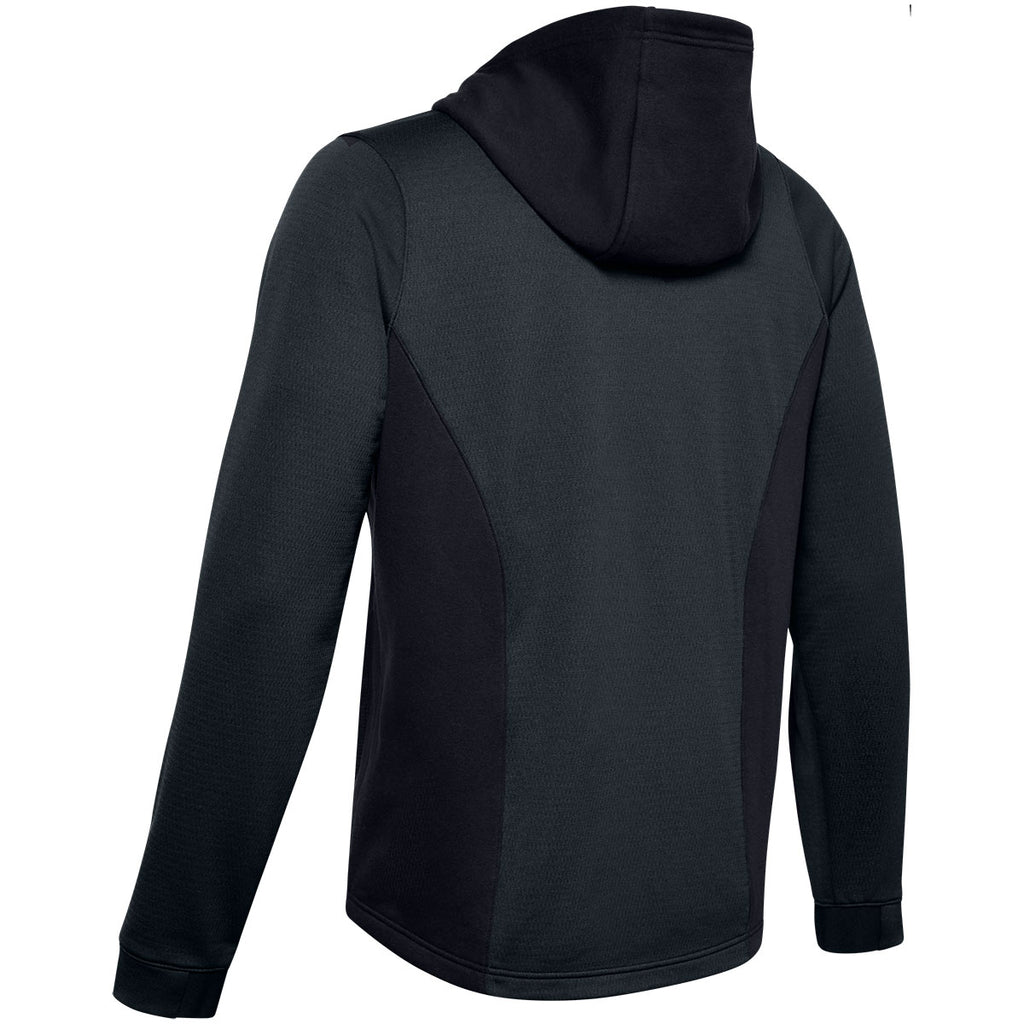 Under Armour Men's Black Dynasty Fleece Hoody