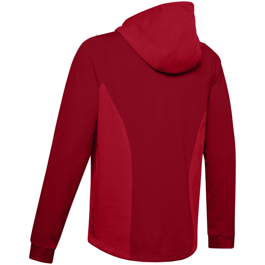 Under Armour Men's Red Dynasty Fleece Hoody
