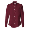 13v0002-van-heusen-women-burgundy-shirt