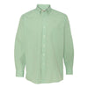 13v0225-van-heusen-light-green-gingham-shirt