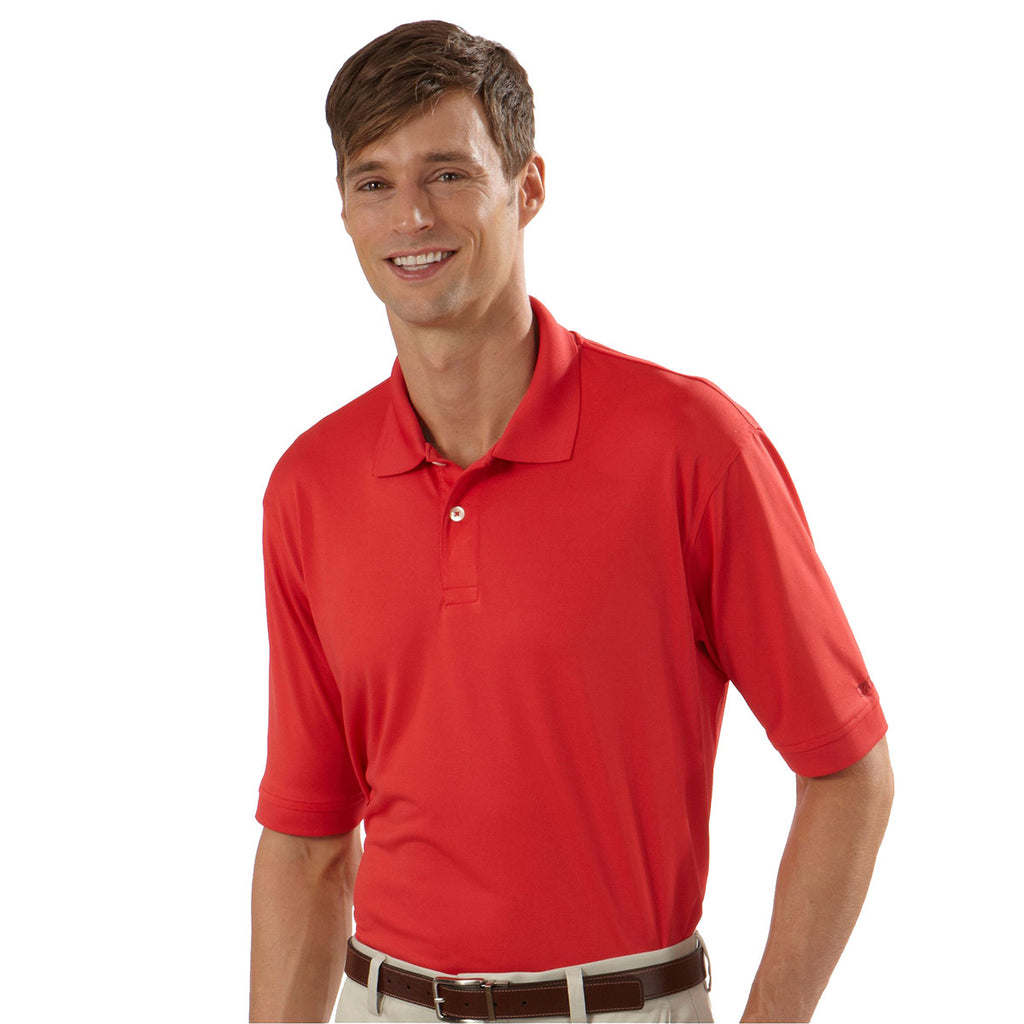 IZOD Men's Spring Red Performance Polyester Solid Jersey