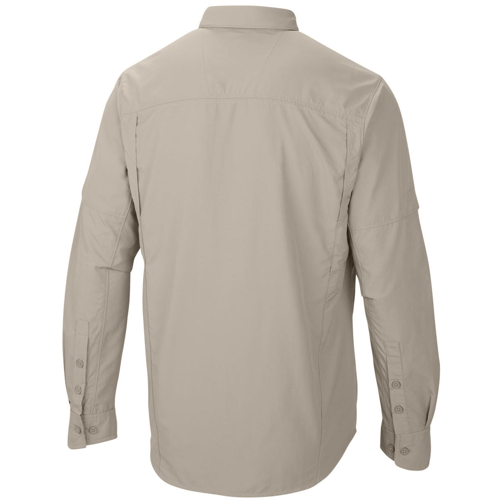 Columbia Men's Fossil Silver Ridge Long Sleeve Shirt