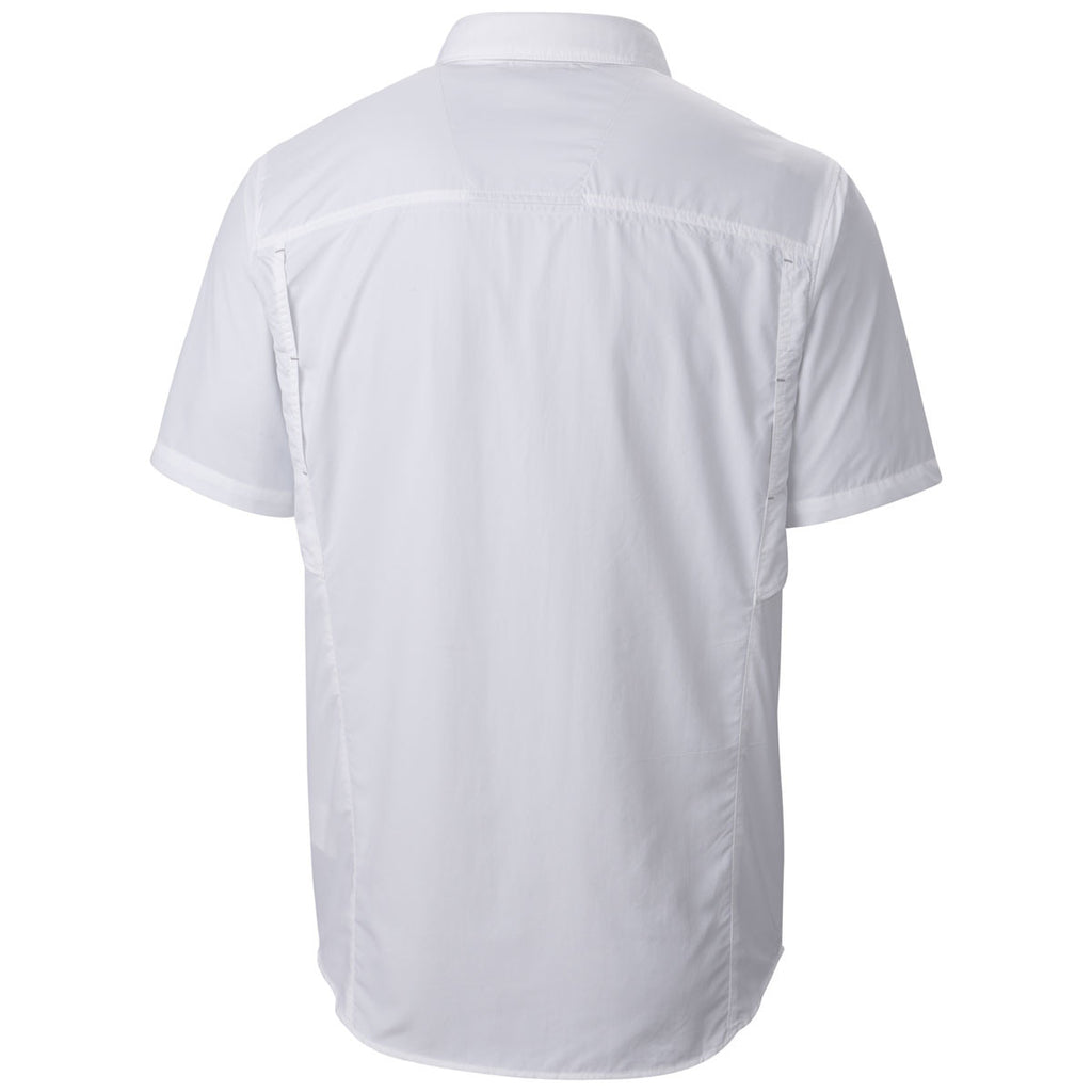 Columbia Men's White Silver Ridge Short Sleeve Shirt