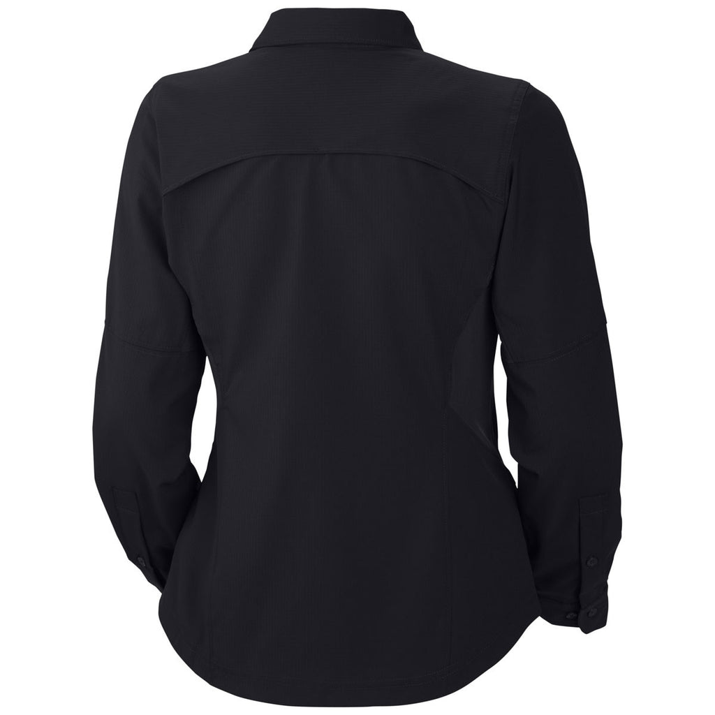 Columbia Women's Black Silver Ridge Long Sleeve Shirt