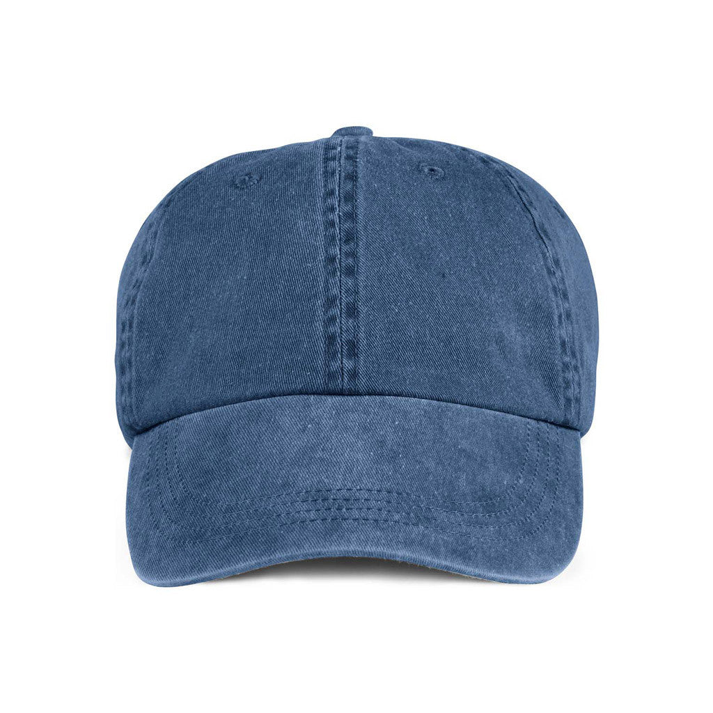 0e49bb77699 Anvil Navy Solid Low-Profile Pigment-Dyed Cap