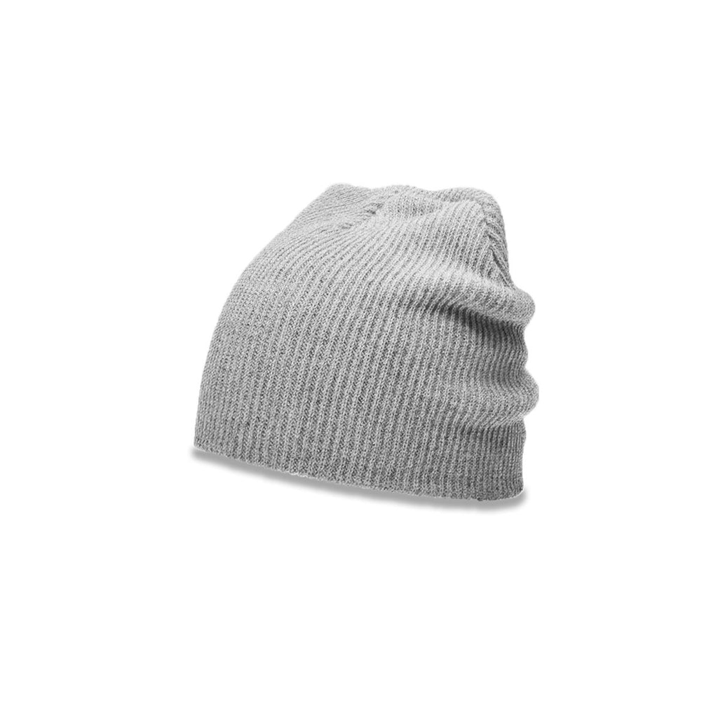 ad5353cd1a0 Richardson Heather Grey Slouch Knit Beanie with Cuff