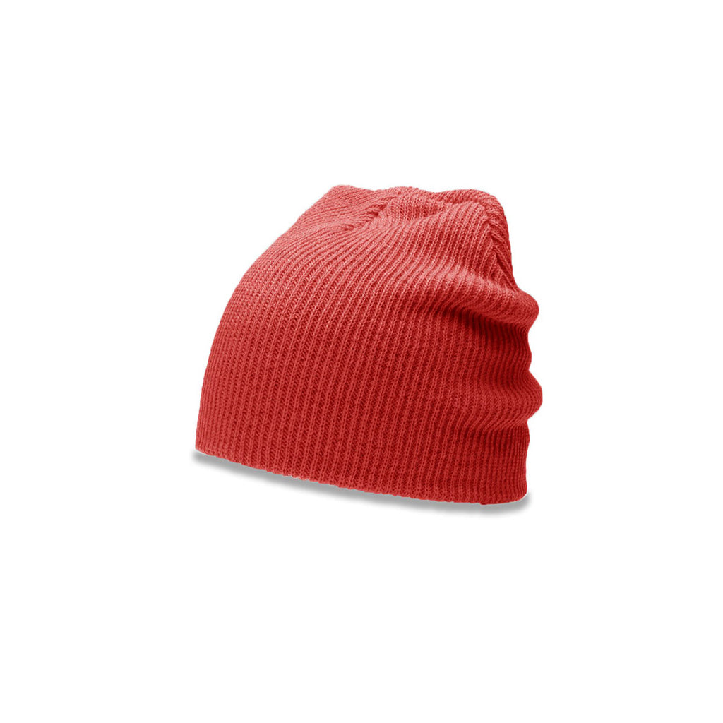 71b0d91d158294 Richardson Red Slouch Knit Beanie with Cuff