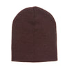 1500-yupoong-brown-knit-cap
