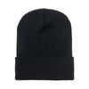 1501-yupoong-black-cuffed-knit-cap