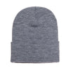 1501-yupoong-grey-cuffed-knit-cap