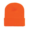 1501-yupoong-orange-cuffed-knit-cap