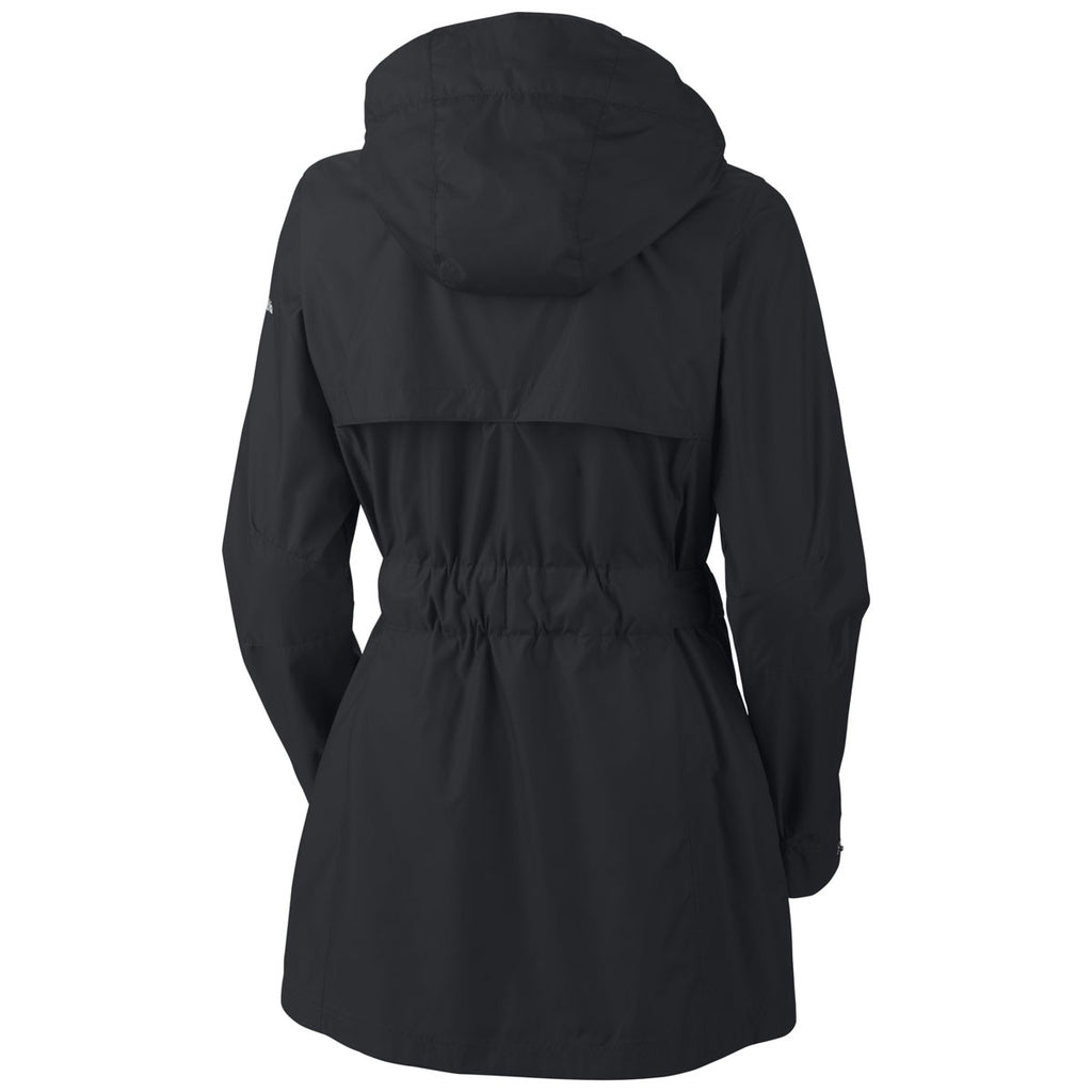 Columbia Women's Black Pardon My Trench Jacket