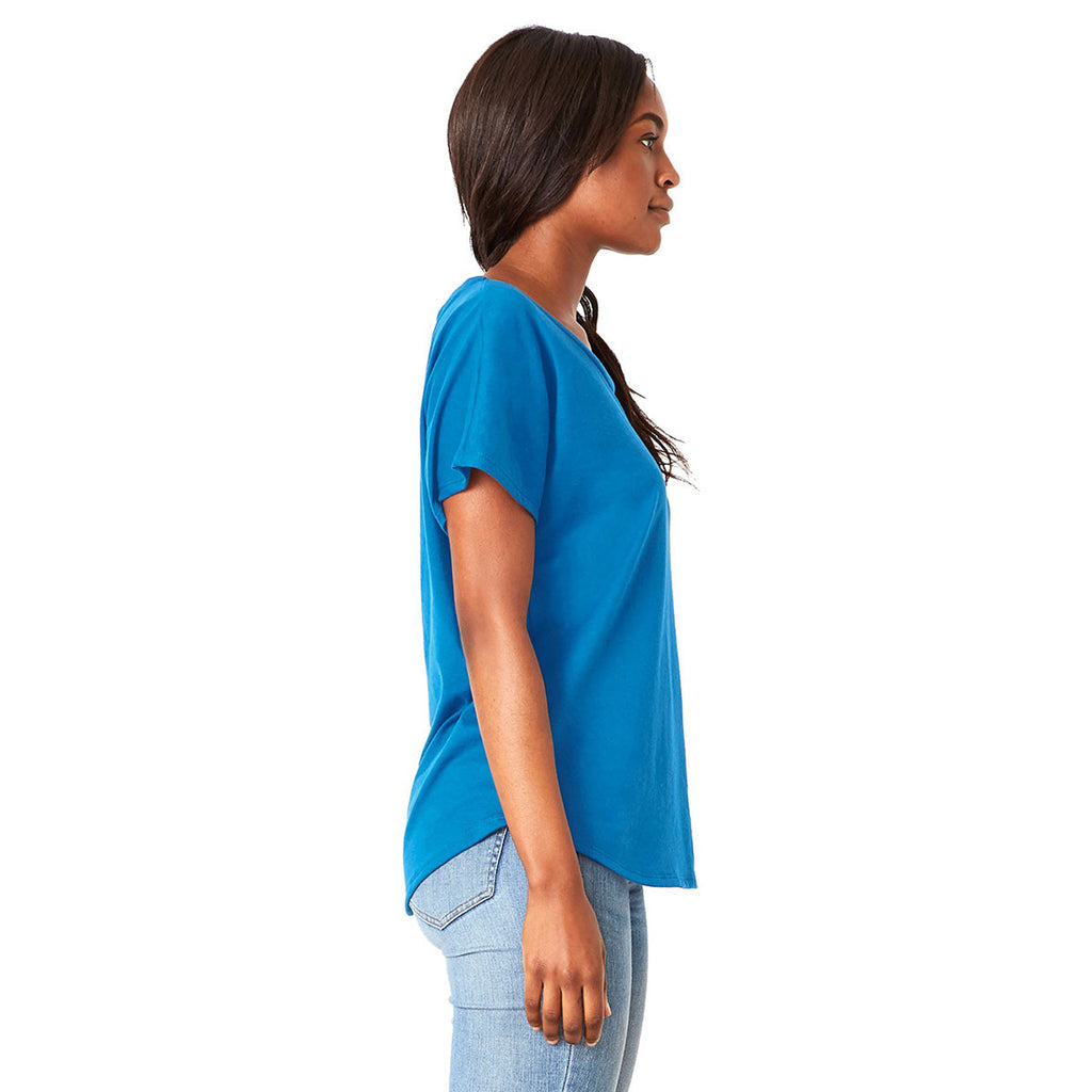 Next Level Women's Turquoise Ideal Dolman