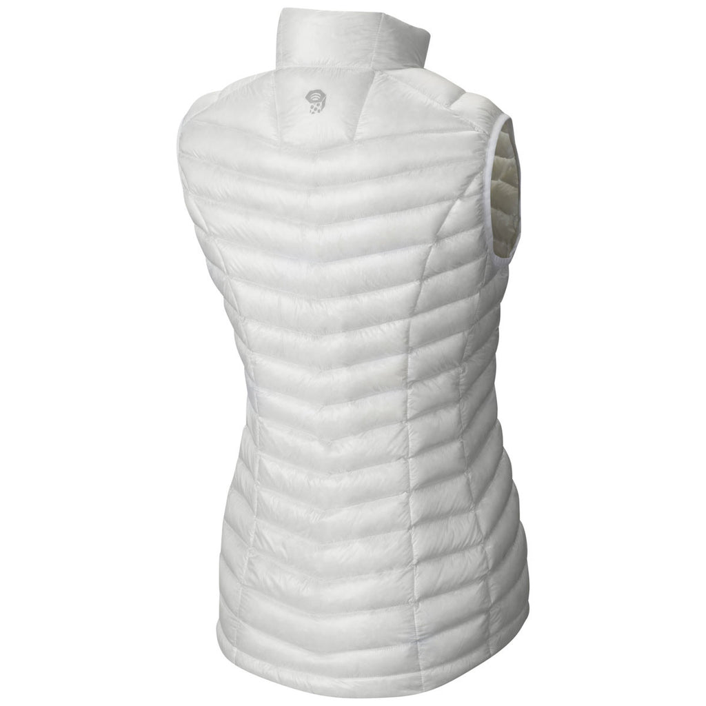 Mountain Hardwear Women's White Ghost Whisperer Down Vest